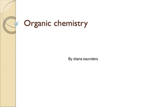 gcse organic chemistry revision