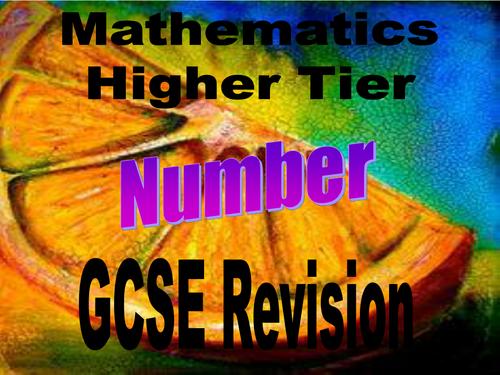 GCSE number revision