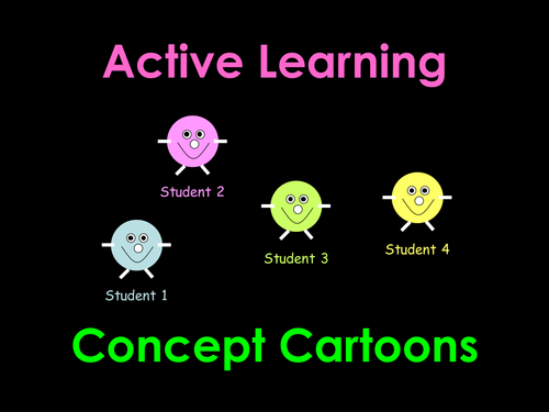 Active Learning: Concept Cartoons