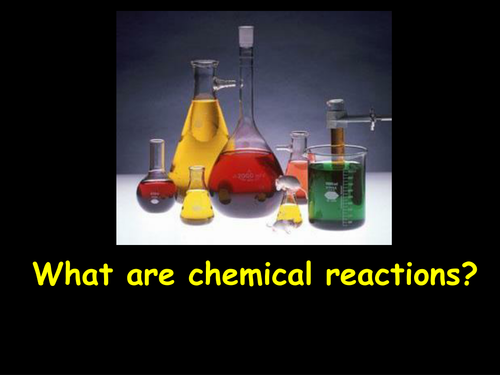 What are chemical reactions?