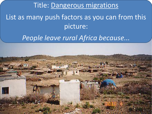 African Migrants Lesson by debexley | Teaching Resources