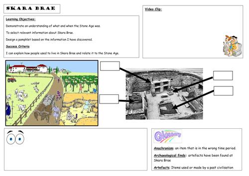 Stone Age: Skara Brae by hunnibee24 - Teaching Resources - Tes