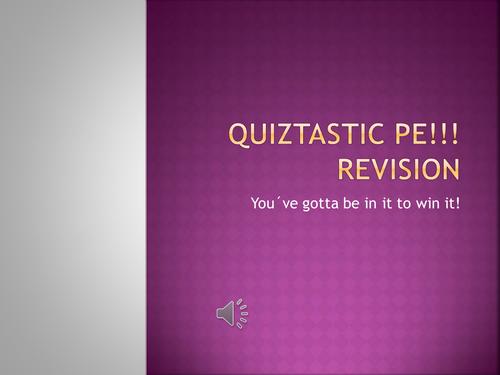 Fun Team Quiz for revision