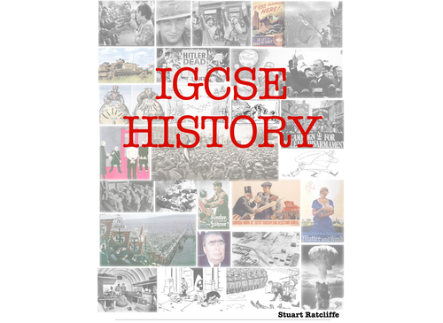 IGCSE History content and revision