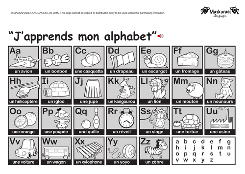 KS1 FRENCH: Alphabet-Colours-Numbers