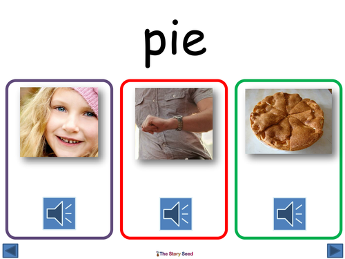 Phonics Pack: 'ie' sound (mainly split digraph)