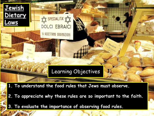 KS3 Judaism  - Kosher food