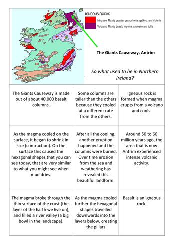 Geology - The Giants Causeway