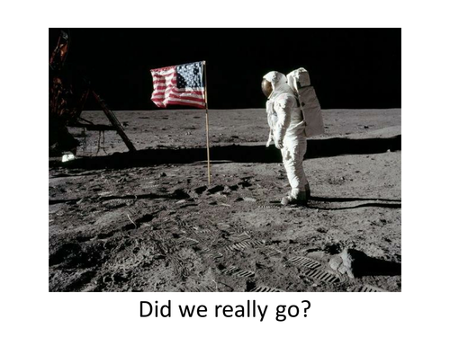 Moon Landing Conspiracy - Y7 Investigation by PaulStaveley