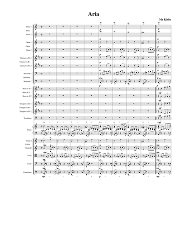 Aria - Music for Intermediate secondary school orchestra