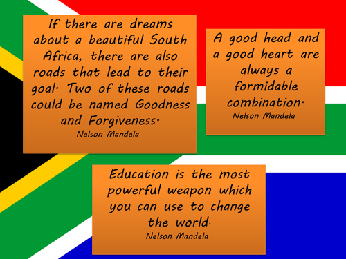 Nelson Mandela Quotes Posters