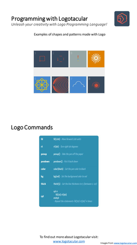 Programming with Logo