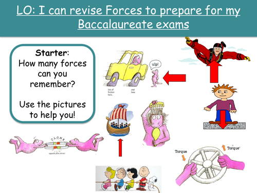 KS3 Forces/Pressure/Moments/Speed Revision