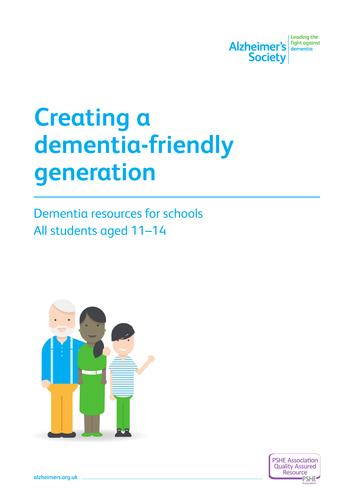 Creating a dementia friendly generation: KS3
