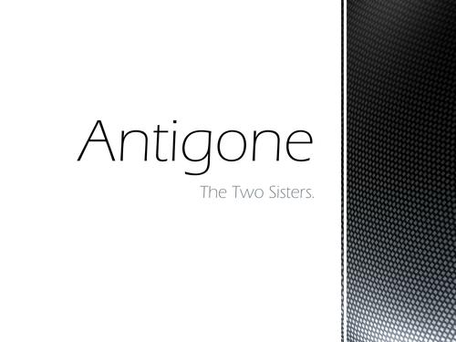 Antigone AS Theatre Studies