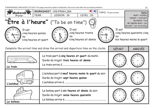 Time Worksheets : time worksheets ks3 Time Worksheets or Time ...