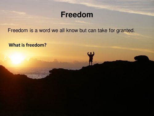 Freedom/Human Rights Lesson