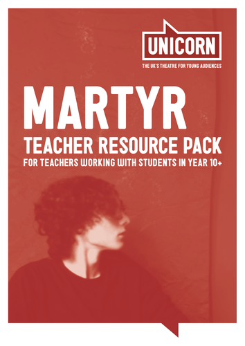 Martyr - Teacher Resource Pack