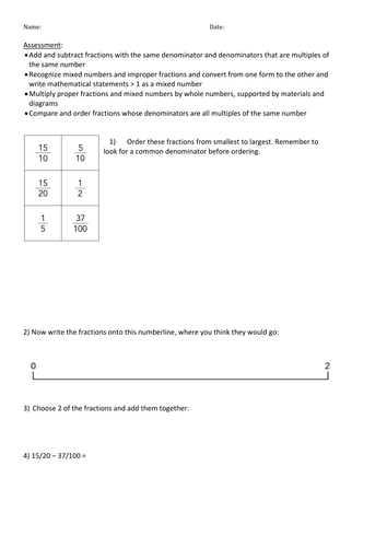 Dividing Fractions And Whole Numbers Worksheets & fractions ...