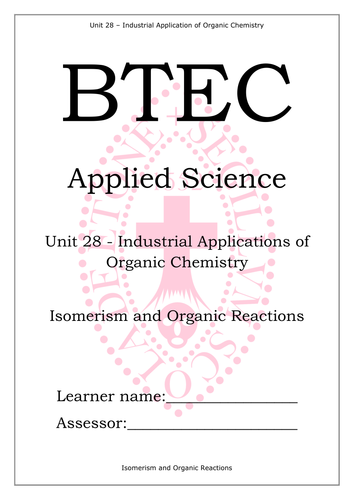 BTEC National L3 Applied Science Unit 28