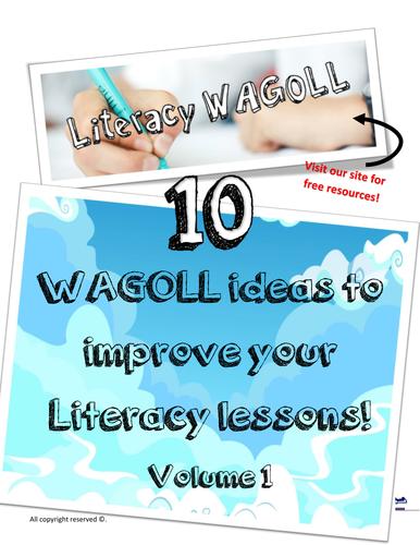 WAGOLL Literacy Ideas