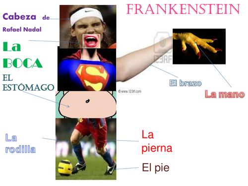 El cuerpo Frankenstein/ The body Frankenstein