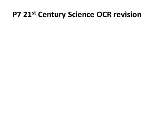 ocr 21st century science physics coursework Ocr gcse twenty first century science suite physics a qualification information including specification, exam materials, teaching resources, learning resources.