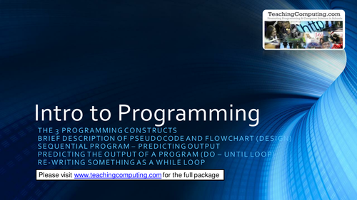 Mastering the 3 programming constructs