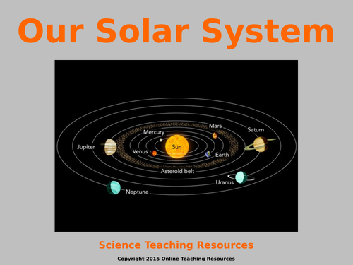 Earth and Space Year 5 Teaching Pack - 5 PowerPoint presentations and worksheets