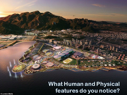 Olympics in Rio 2016 - The Olympic Site