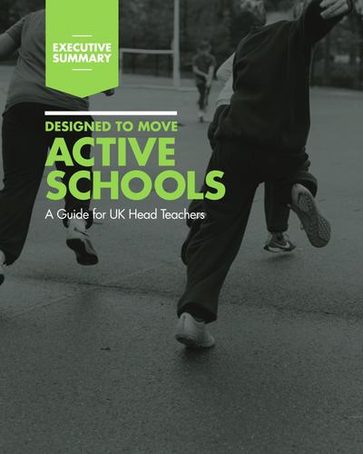 Nike Active Schools Guide; For UK Headteachers