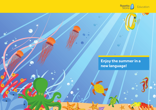 Enjoy the summer in a new language!