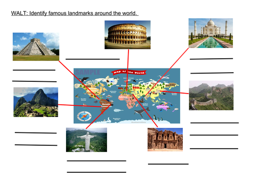7 New Wonders of the World by kirstymariew  Teaching Resources  Tes