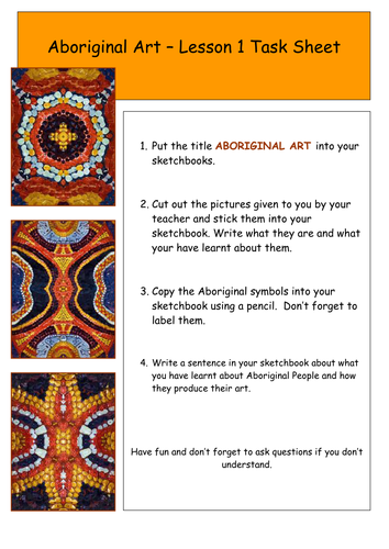 aboriginal art year 7 by kirstyhuff teaching resources tes. Black Bedroom Furniture Sets. Home Design Ideas