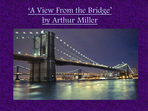 a view from the bridge gcse essay questions Tough gcse topics broken down and explained by out team of expert teachers a view from the bridge essay past paper question on a view from the bridge.