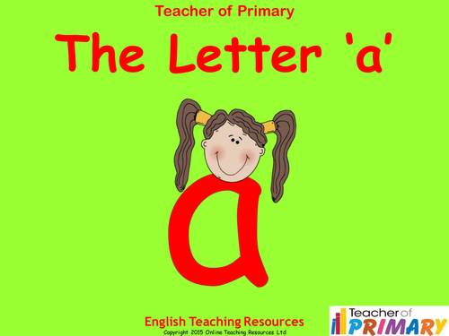 Letters of the Alphabet Teaching Pack - 24 PowerPoint presentations and 26 worksheets