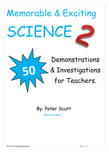 Book 2 - 50 Engaging and Memorable Demonstrations and Practicals