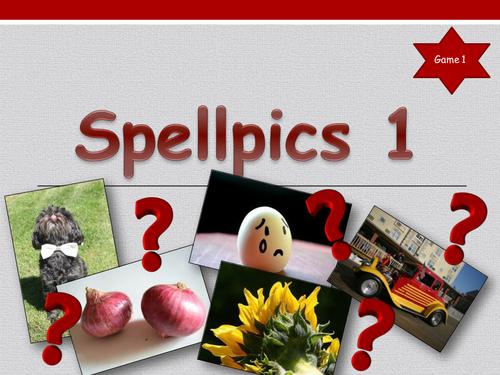 'Spellpics 1'  Spelling Starters