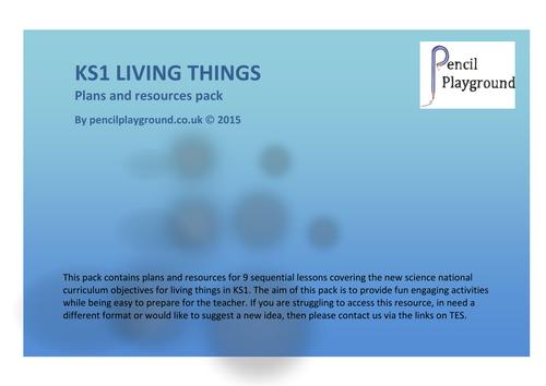 KS1 Living Things Pack