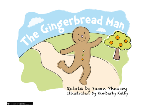 GINGERBREAD MAN - PHONICS, LITERACY AND MATHS