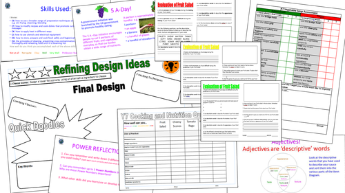 Scheme of Work: The Complete Y7 Cookery and Nutrition Power Project