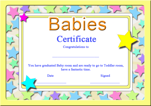 Graduation Certificates by Barb78 - Teaching Resources - Tes