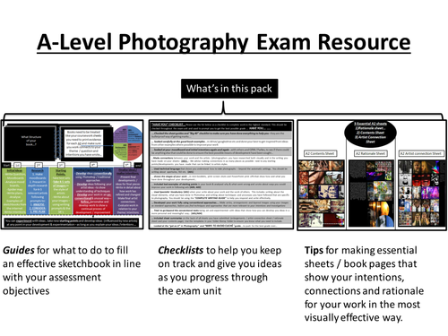 A-Level Photography Exam Resources