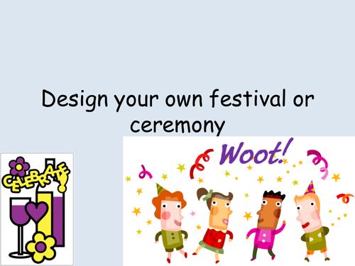 Design your own religious festival