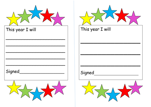 new school year target sheets by miss_tallulah - Teaching Resources ...