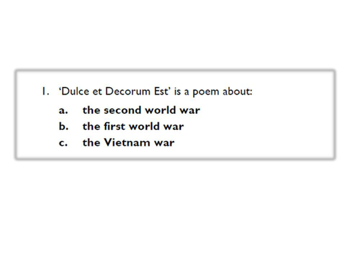 war poetry ks3 by nicky s 96 teaching resources. Black Bedroom Furniture Sets. Home Design Ideas