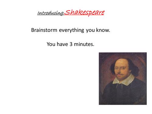 Shakespeare's Sonnets KS3