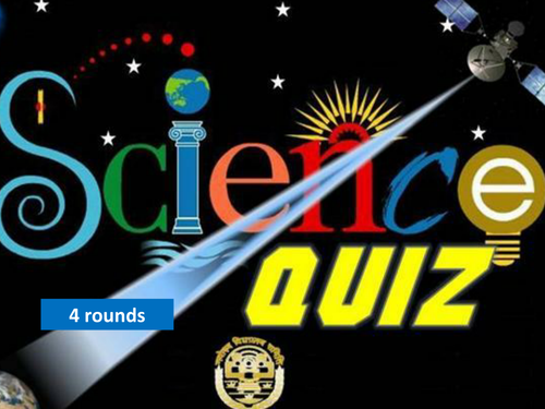 Science Picture Quiz - End of term fun!