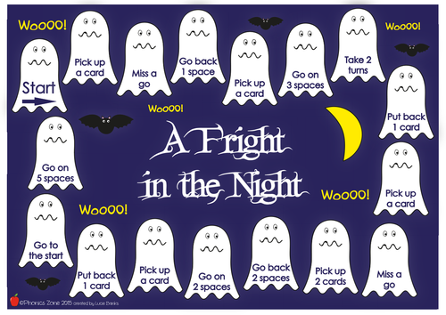 igh Phonics Game 'A Fright in the Night'