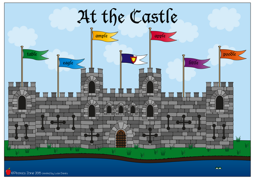 le Phonics Game 'At the Castle'